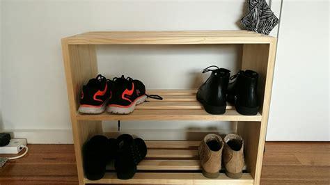 woodworking simple shoe rack youtube