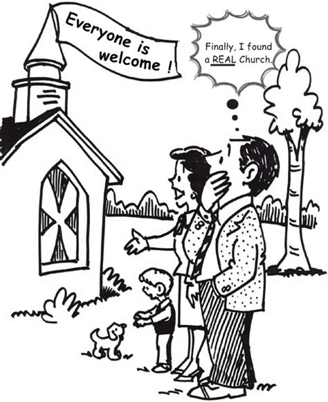 coloring page of family going to church going to church coloring pages