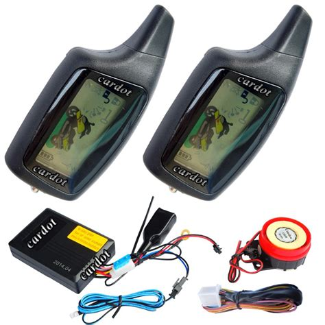 Alarm Two Way Mp aliexpress buy russian motorcycle alarm is for