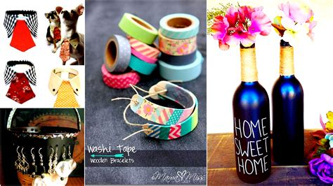 easy crafts for to make at home 41 smart and creative diy projects that you can make and