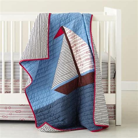nautical baby bedding the land of nod baby crib bedding baby nautical sailing