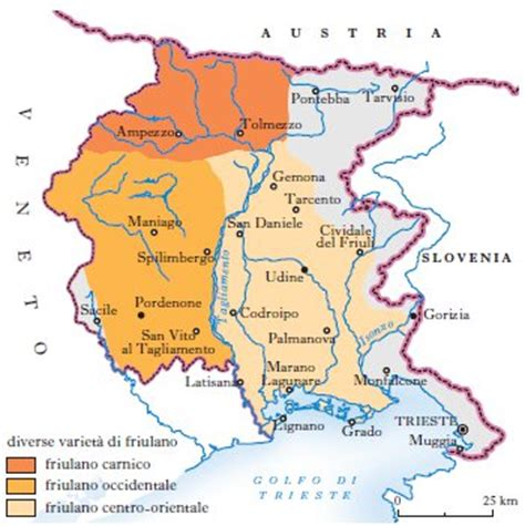 libro le lingue e il friulani dialetti in quot enciclopedia dell italiano quot