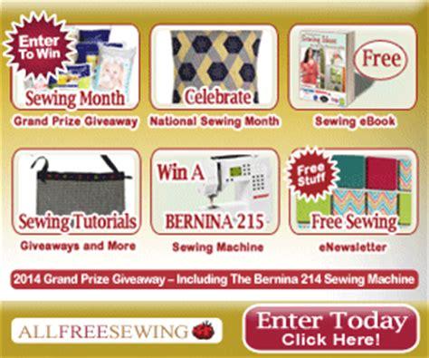Sewing Machine Giveaway 2014 - bernina 215 sewing machine giveaway at totally free stufftotally free stuff