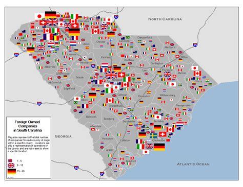 carolina industry map news and visions international
