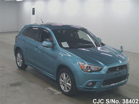 mitsubishi rvr 2010 2010 mitsubishi rvr blue for sale stock no 38402