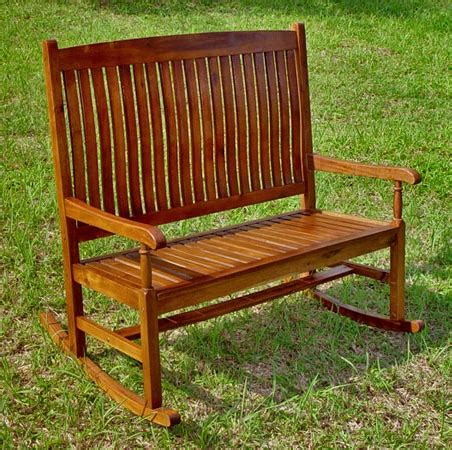 furniture gt outdoor furniture gt bench gt hardwood rocking bench