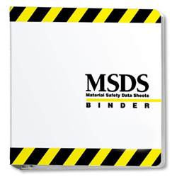 Msds Cover Sheet Template by Msds Binder