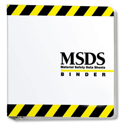 printable msds binder cover sheet msds binder