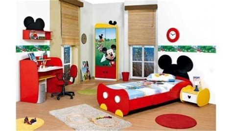 Mickey Mouse Clubhouse Room by Mickey Mouse Themed Room Designs And Furniture
