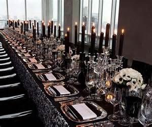 black and silver wedding centerpieces 9 elegantly spooky wedding ideas