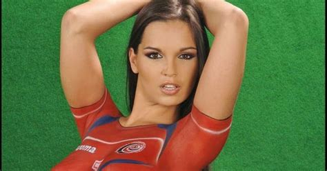 soccer body paint competition body painting world cup soccer women art body