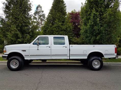 1992 Ford F 350 CREW CAB 4x4 LONG BED   1993 1994 1995