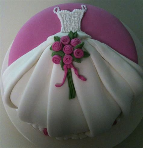 bridal shower cake decoration ideas wedding dress cake cakecentral