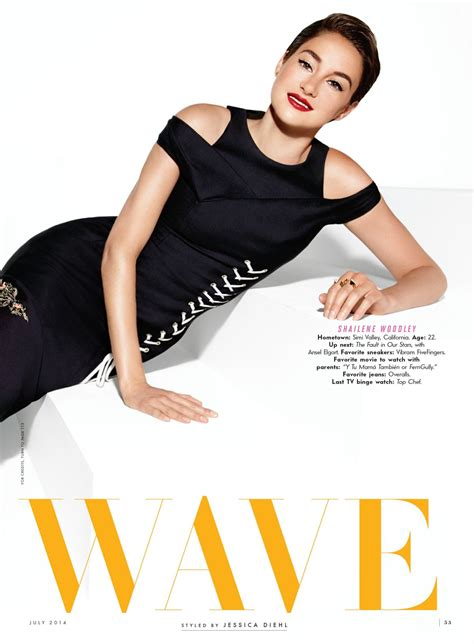 Vanity Fair Magazine 2014 by Shailene Woodley In Vanity Fair Magazine July 2014 Issue