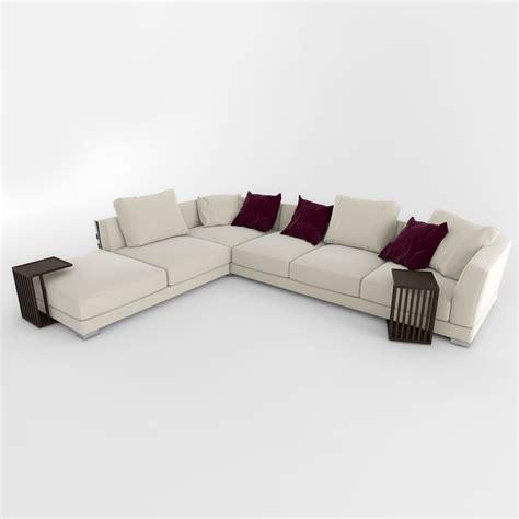 flexform couch sofa cestone flexform 3d max