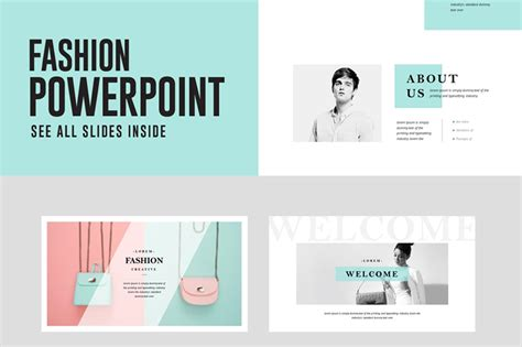 powerpoint presentation template fashion powerpoint presentation template free pixelify