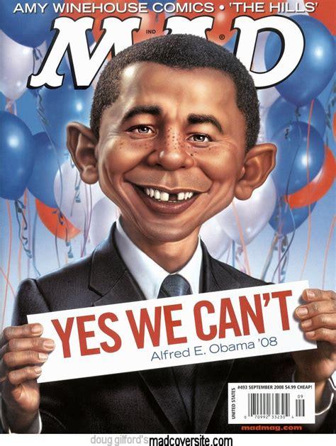 yes we can biography barack obama summary mad magazine issue 493 mad cartoon network wiki fandom