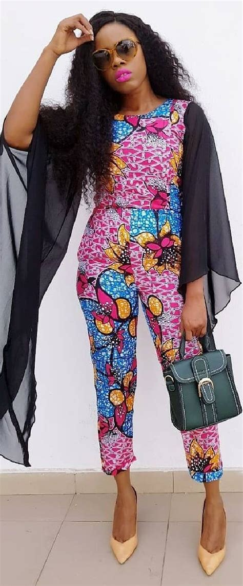 nice kente ankara jumpsuit african print jumpsuit african fashion ankara kitenge