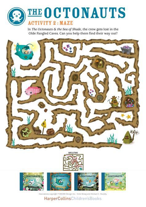 Octonauts Maze   Scholastic Book Club