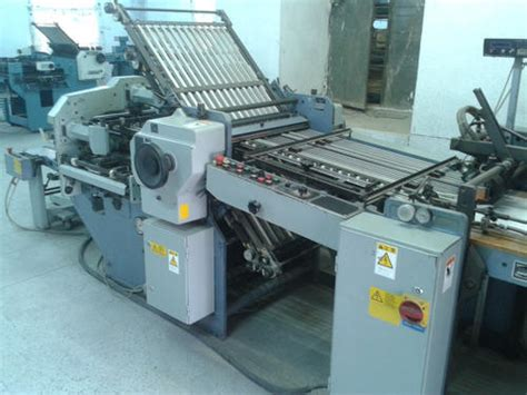 Stahl Paper Folding Machine - paper folding machine used stahl 66 folding machine kc