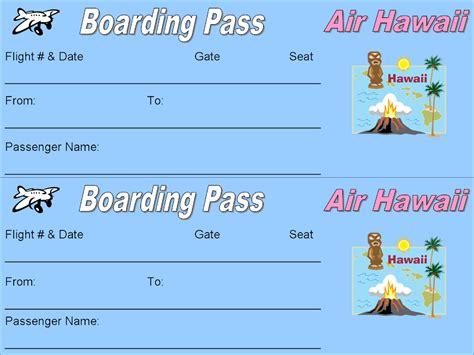 free printable plane ticket template free printable airline ticket templates search results