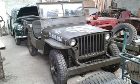 Willys Jeep Restoration 1943 Willys Mb Restoration Project Jeeps Milweb