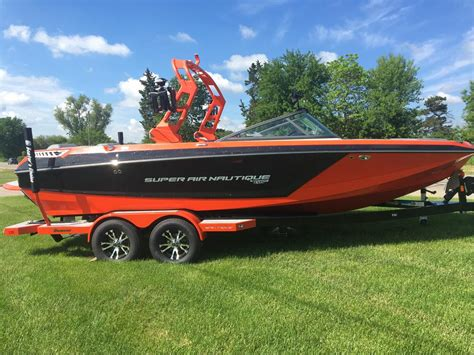 nautique boats for sale michigan 2018 nautique gs22 solar red for sale in brooklyn michigan