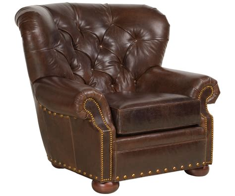 club armchair leather tufted leather club armchair club furniture