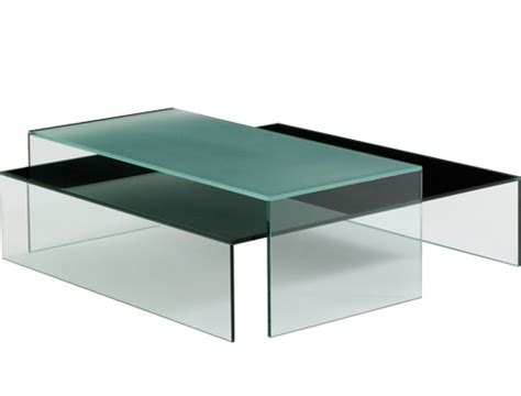pool glass coffee table by bensen