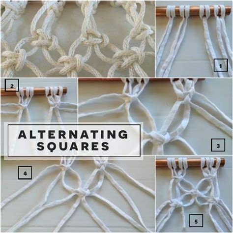 Simple Macrame Projects - 17 migliori idee su free macrame patterns su