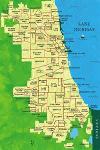 Chicago Map South Side by South Side Stand Up If You Feel Me West Side Black