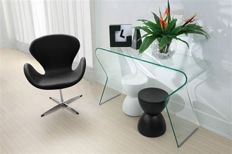 all glass console table between wood and glass console tables homesfeed