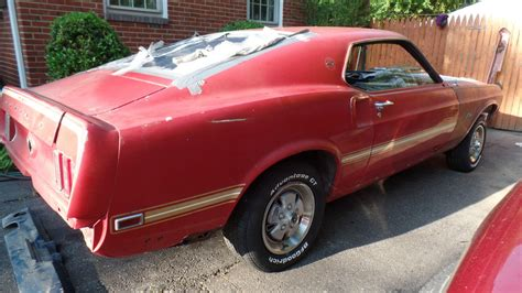 ford mustang restoration project for sale uk 1969 mach 1 mustang restoration project cars for sale