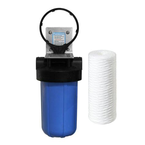 Kitchen Flooring Home Depot Pelican Water 10 In 5 Micron Sediment Filter System Bb10