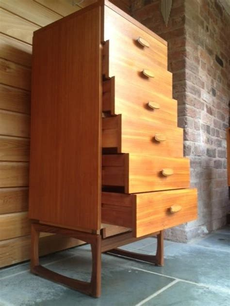 tall boy dresser plans g plan quadrille tall boy chest of drawers in teak and
