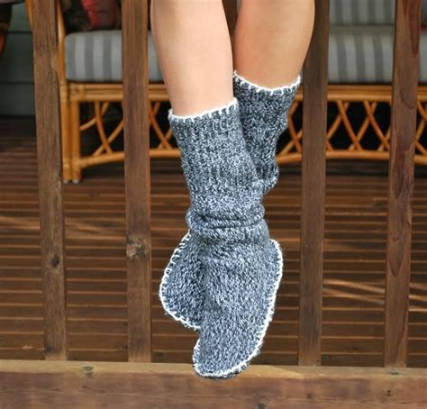 how to make sweaters how to make sweater slipper boots alldaychic
