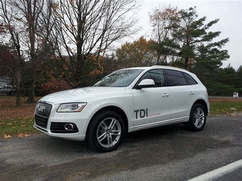 Audi Q5 Fuel Economy by 2014 Audi Q5 Tdi Diesel Crossover Fuel Economy Test