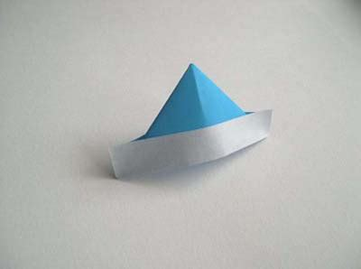 Origami Hat Boat - origami baseball cap instructionsorigami baseball cap