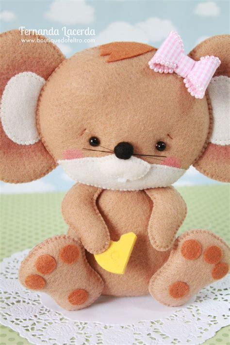 Boneka Babi Pig Plush Doll Original Classic Doll 10 best images about feltro on felt quartos and felt dolls