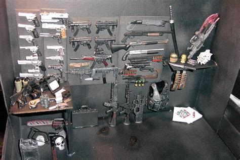 figure guns weapons cache everyone needs one criminal macabre
