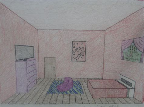1 point perspective room yailita mrs molesky one point perspective room project