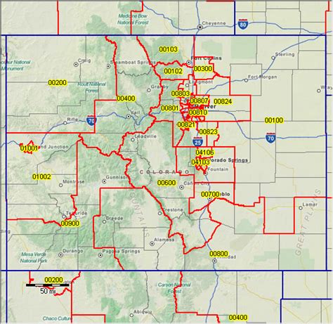 colorado springs zip code map zip code map colorado springs my