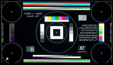 test pattern for led tv test pattern 3 1000x577 projection design bootc