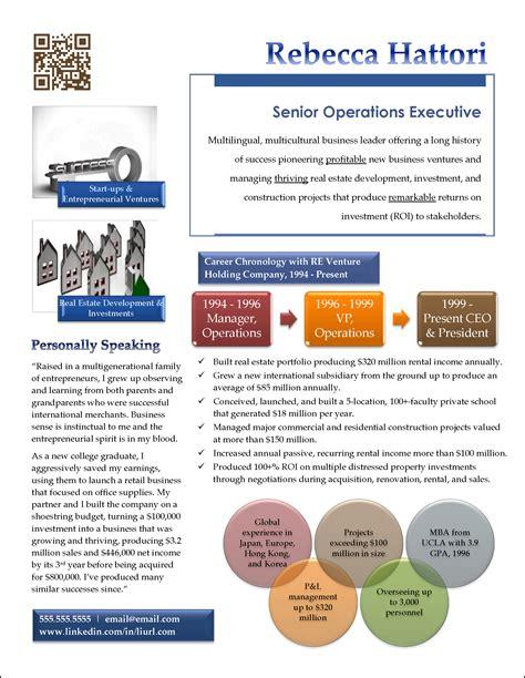 Award Winning Executive Resume Examples