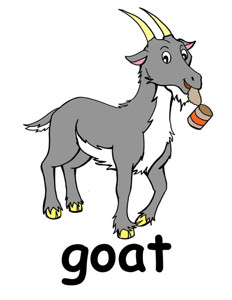 animated clipart free free goat clipart pictures clipartix