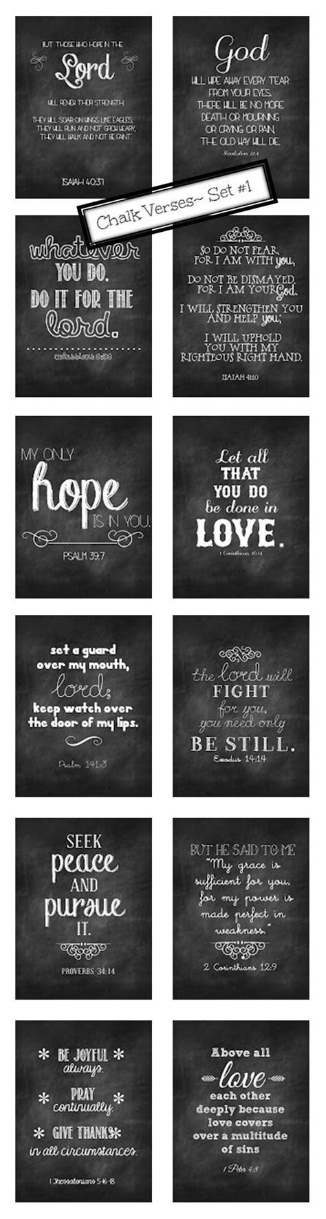 chalkboard print printables pinterest chalkboard verse chalkboards and free printables on pinterest