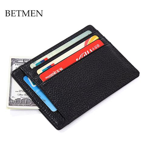 how to make a card wallet betmen brand card holder wallet genuine leather credit
