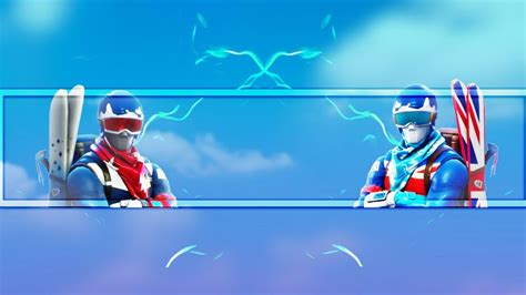 Free Fortnite Channel Art Banner No Text Youtube Fortnite Banner Template No Text