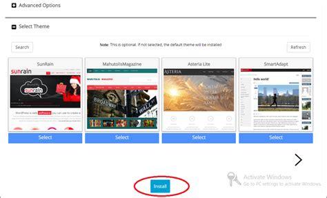 membuat blog org cara membuat blog di wordpress org self hosting