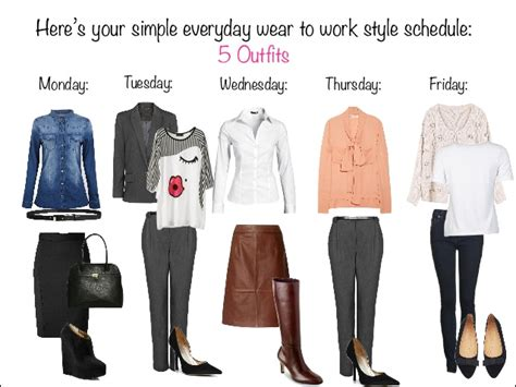 Clothes My Back Wednesday by Simple Everyday Wear To Work Styles Just Set It And